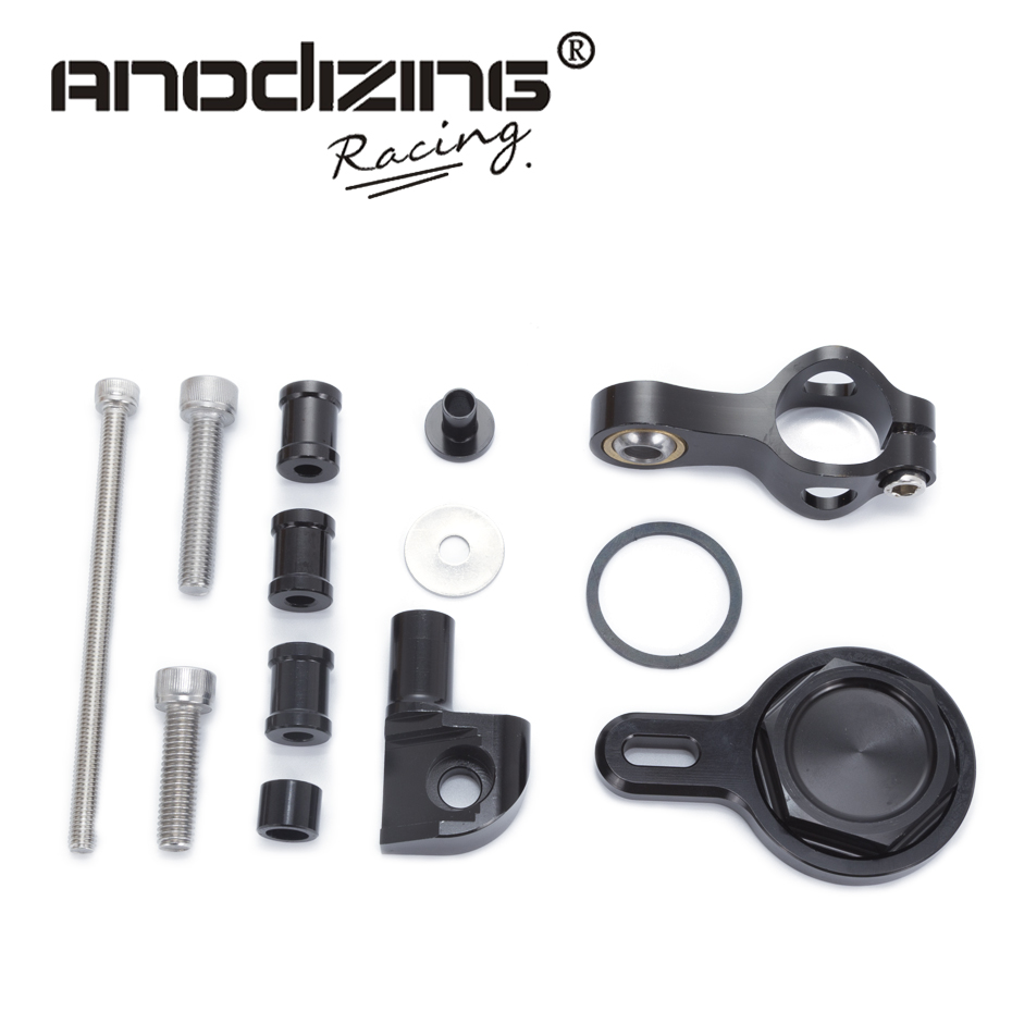 For YAMAHA R1 1998-2005 Motorcycles Adjustable Steering Stabilize Damper Bracket Mount Support Kit Accessories ноутбук dell inspiron 5567 5567 1998 5567 1998