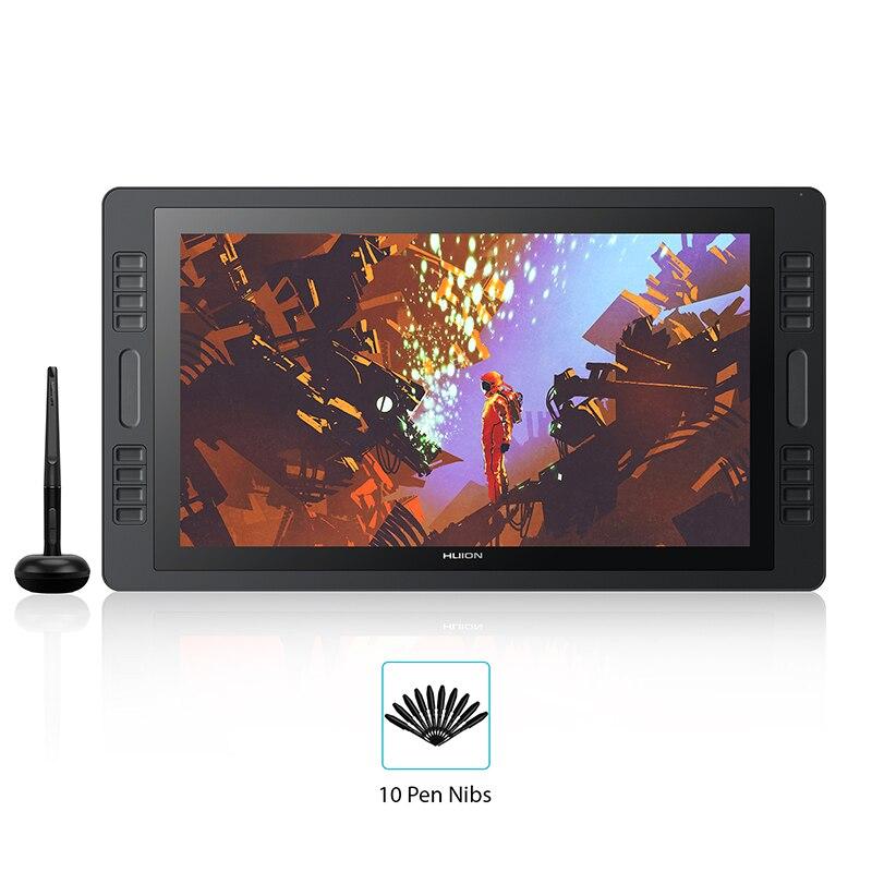 KAMVAS Pro 20 2019 Version avec inclinaison graphique tablette moniteur 8192 levier pression sensibilité stylo affichage dessin tablette