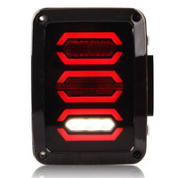 High Quality LED DRLs Brake Lights Reversing Lights Turn Singnal Car Rear Taillights Tail Lamps For