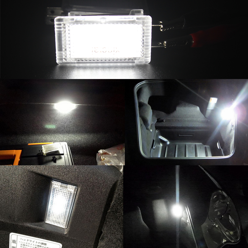 1 Pair LED Lamp Luggage Compartment Light Trunk Lamp For Porsche 911 Carrera/Turbo/GT3 996 997 Boxster 986 987 Cayman 987C 987C2