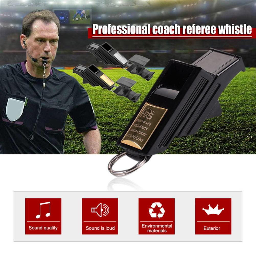 Professional Factory Direct Professional Football Referee Whistle Basketball Volleyball Whistle Sports Teacher Gold Silver