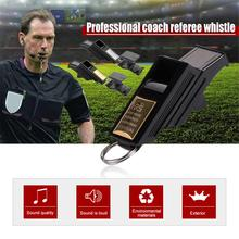 Professional Factory Direct Football Referee Whistle Basketball Volleyball Sports Teacher Gold Silver