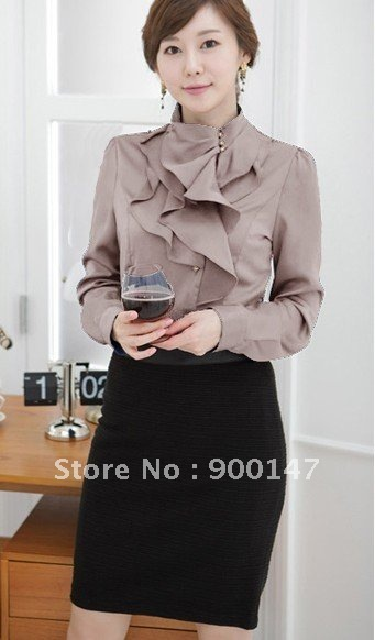 Free Shipping zero risk online transactions, 50PCS from OEM, top-selling fashion tuxedo shirts