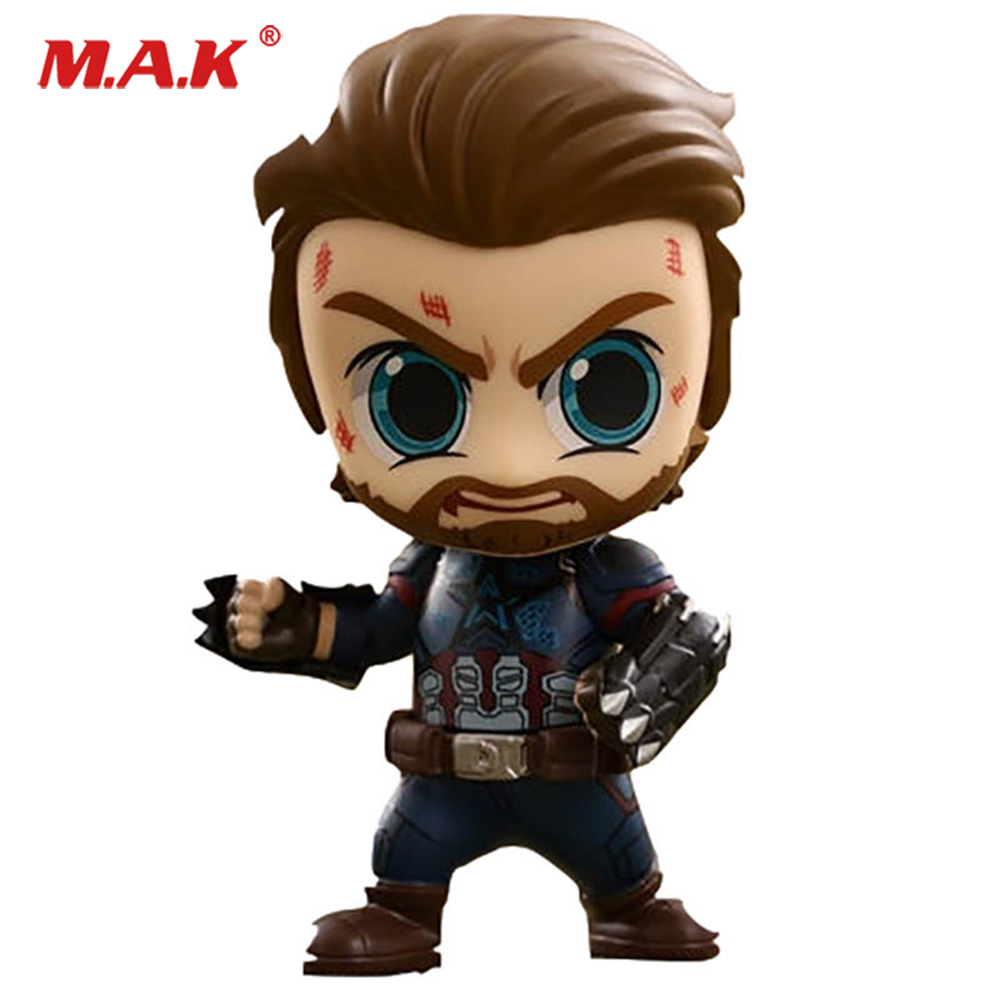 For Collection 11cm COSB429 MINI Anime Figure Series 1 The Avengers 3 Captain America Action Figure for Fans Gift AccessoryFor Collection 11cm COSB429 MINI Anime Figure Series 1 The Avengers 3 Captain America Action Figure for Fans Gift Accessory