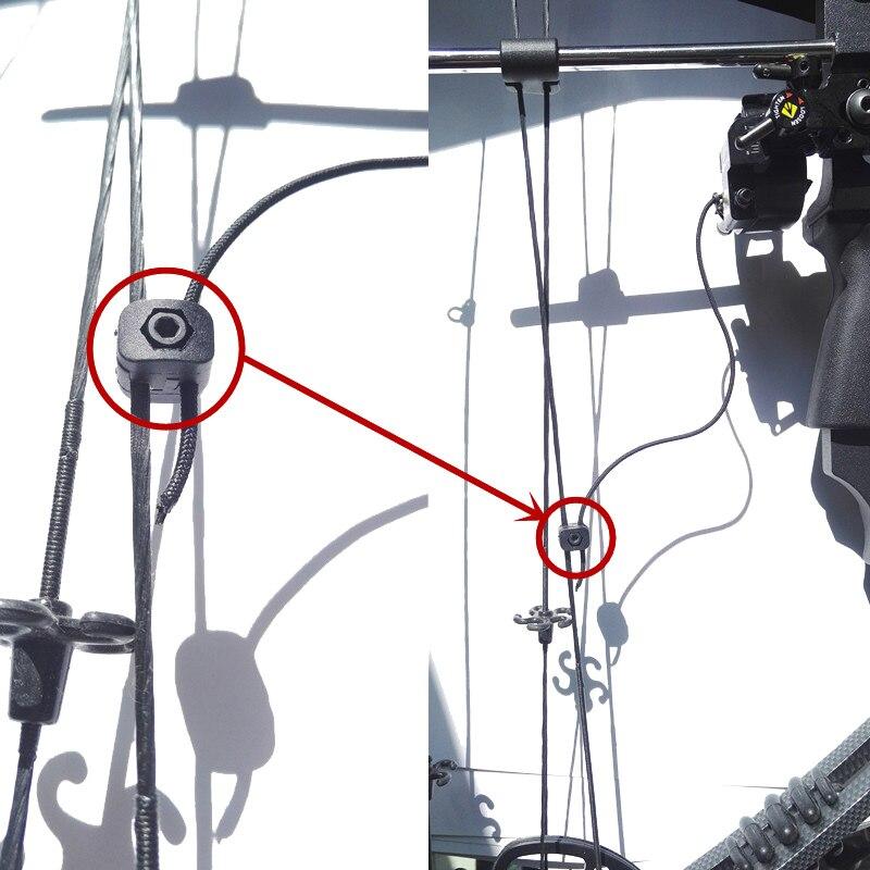 3ks lukostřelba černá spojovací prvek plastová spojka kleště pro spadající pryč Arrow odpočinek lovecké doplňky