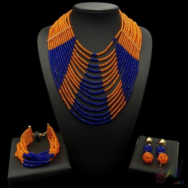 Yulaili ensemble de bijoux de haute qualité ensemble de bijoux élégant