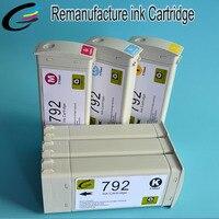 Recyclé D'origine Cartouche Compatible pour HP 792 Cartouches Jet D'encre pour HP Latex L26500 imprimante