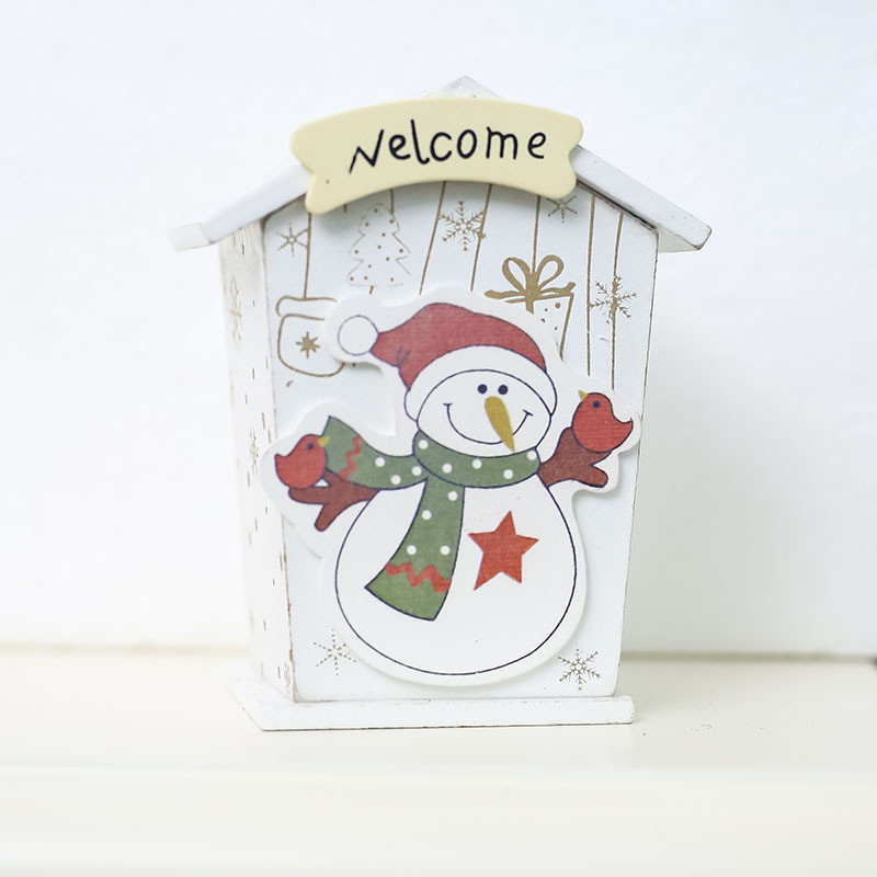 Image 4 - New Christmas Mini Candy Tin Box Jewelry Coins Storage Gifts Cartoon Piggy Bank Gift Box Storage Boxes Cans-in Storage Boxes & Bins from Home & Garden