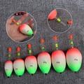 5pcs/set EVA Luminous Floating Floats Sea Rock Fishing Striking Hard Tail Belly Floats 10/20/30/40/50/60G