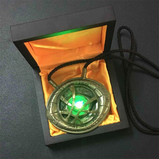 Кулон Доктор Стрэндж Глаз Агамотто в подарочной коробке 1