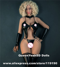 163cm Big Breast Solid Silicone Sex Dolls With Skeleton Metal Adult Love Doll Artificial Vagina Sexy Product For Men Masturbator