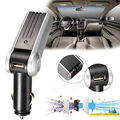Car Air Ionizer Oxygen Bar Ozone Purifier Fresher Clean With USB Charger Free Shipping  E#A