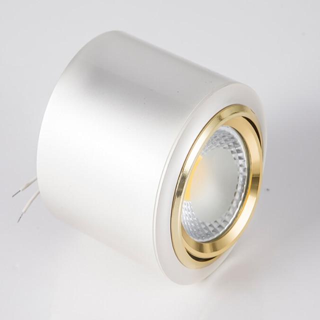 Lumières montées par Surface de lampe vers le bas de la coquille argentée 10W, coquille de haute qualité, produits davantage, CE de AC85-265V léger de haute qualité