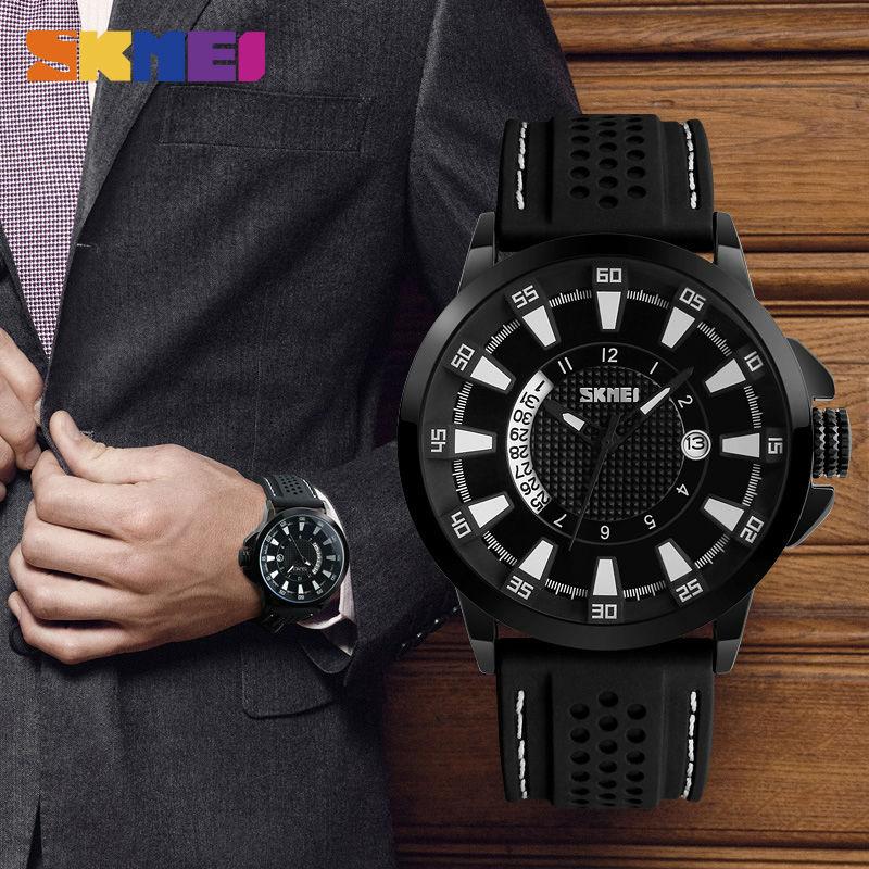 Reloj analógico de cuarzo SKMEI para hombre con fecha Relojes de - Relojes para hombres - foto 3