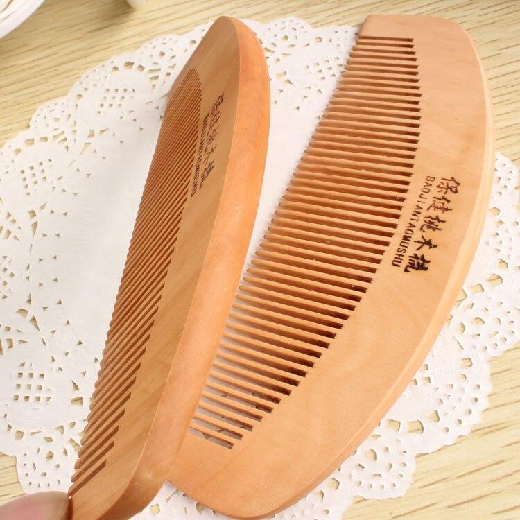 C46 Новый элитного бутика деревянный гребень для волос Антистатические гребень сидячие волосы прямые волосы расческой