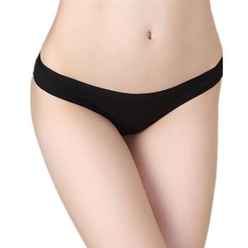 Cotton Sexy G-string Thongs Women Underwear Seamless Cotton Panties Plus Size Underwear Black Red White Skin Gray XL 2XL 3XL sexy panti