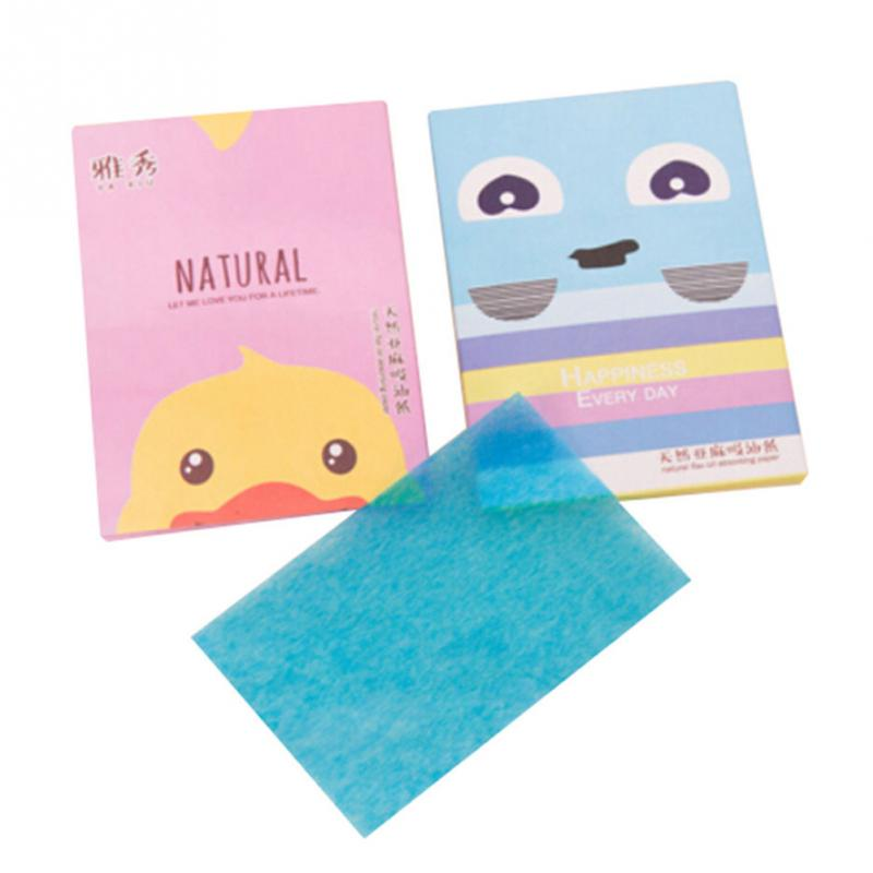 Tissue Papers Makeup Cleansing Oil Absorbing Face Paper Korea Cute Cartoon Absorb Blotting Facial Cleanser Face Tools Girl Boy
