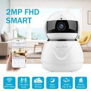 Image 1 - SANNCE 1080 P אלחוטי Wifi IP מצלמה מלאה HD אבטחת בית תינוק צג מיני רשת מעקב המצלמה IRCut ראיית לילה טלוויזיה במעגל סגור