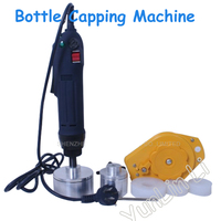 Free Ship By DHL 1PCS Bottle Capping Machine Handheld Manual Electric Bottle Capping Machine 220V For