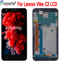 For Lenovo C2 K10a40 / Lenovo Vibe C2 LCD Display + Touch Screen Digitizer Assembly Replacement For 5.0 Lenovo K10a40 Display n140hce en1 rev c2 fhd led lcd screen ips display panel replacement for lenovo thinkpad t480
