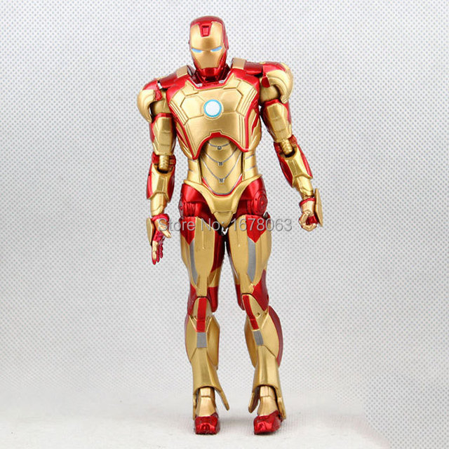 Iron Man The Avengers World Golden 8 inch Marvel War Machine Captain ...