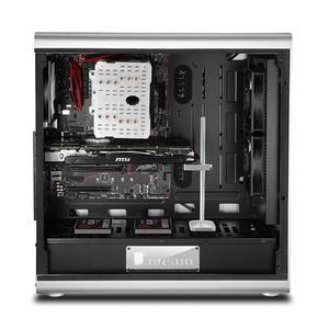 Image 3 - 195ミリメートルアルミ陽極研磨VC 2グラフィックスカードホルダージャックブラケットデスクトップpcコンピュータケースビデオカードのサポートスタンド
