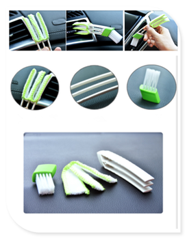 Car cleaning brush air conditioner computer blinds care For BMW all series 1 2 3 4 5 6 7 X E F-series E46 E90 X1 X3 X4 image