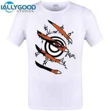 Anime Naruto Nine Tail Seal Short Sleeve T-shirt Summer Cool T shirt