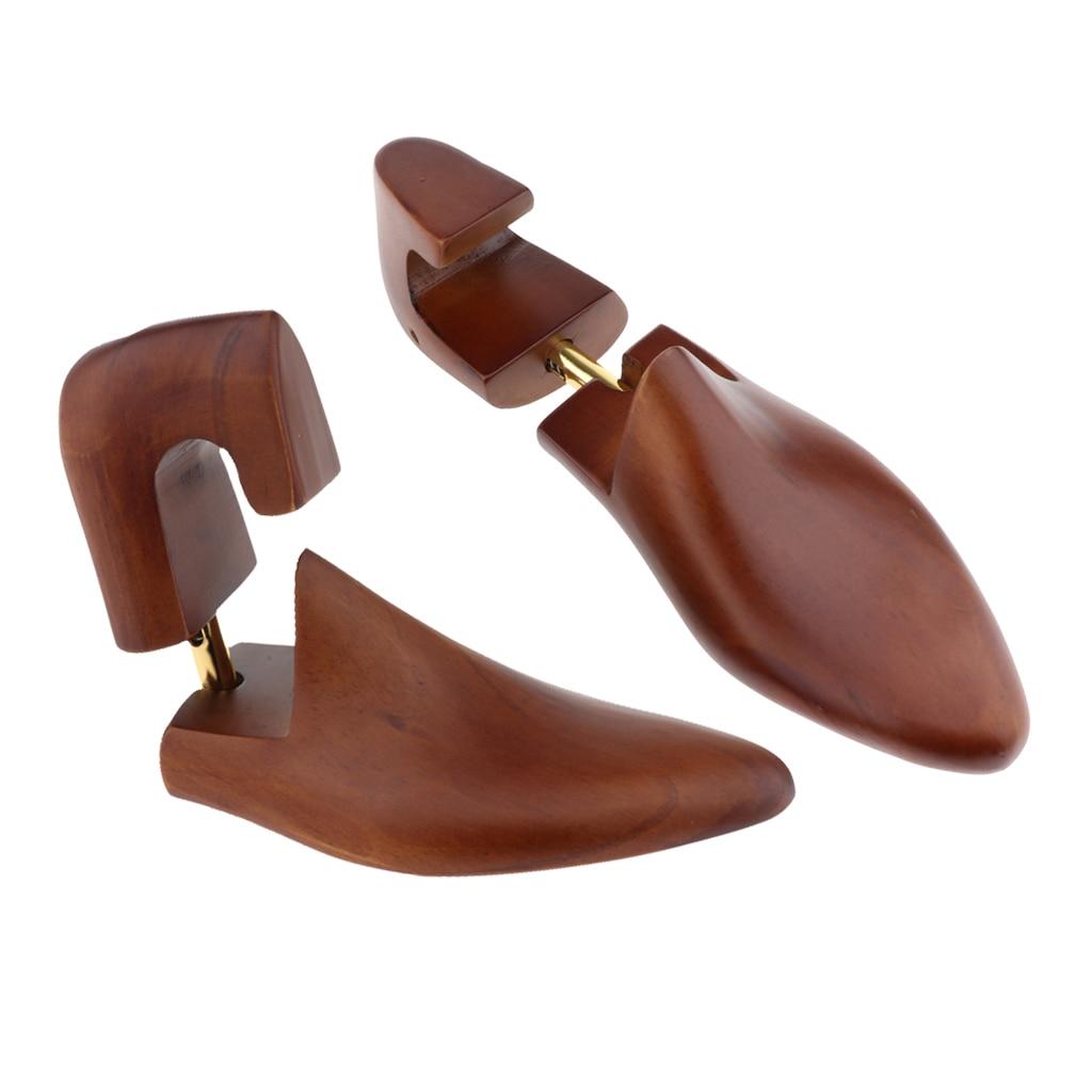 828 Free 1 Coupon 2 Pieces Vintage Wood Shoe Trees Mens Shoe Shapers Stretcher Shaper Keeper EU 39-46
