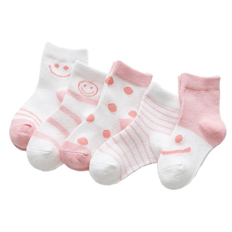 MAINEOUTH 5 Paren / partij Zomer Cool Mesh Pasgeborenen Baby Baby - Kinderkleding - Foto 1