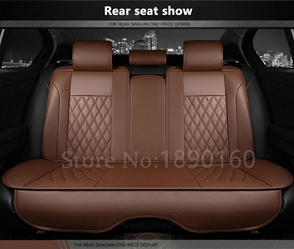 Только заднего сиденья чехлы для Volkswagen VW Skoda Toyota Subaru BMW Kia Nissan VOLVO Mazda и т. д. Все модели автомобиля аксессуары кожа
