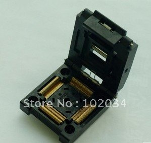 купить 100% NEW IC51-1444-1354 QFP144 IC Test Socket / Programmer Adapter / Burn-in Socket IC51-1444-1354-7 по цене 4285.49 рублей