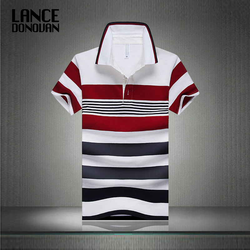 Hot Sale 2019 Summer New Arrival Men   Polo   Shirt Fashion Good Quality Classic Striped Homme Camisa Short Sleeves