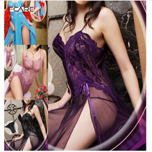 Fcare 2016 plus size  XXXL dress+g string erotic ropa interior mujer sexy erotica  lace sexy lingerie hot