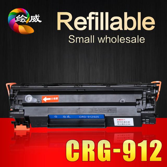 CRG 912 312 712 112 cartucho de toner compatível para Canon LBP 3010 3100 6000 6018 impressoras comprar-direto-da-china