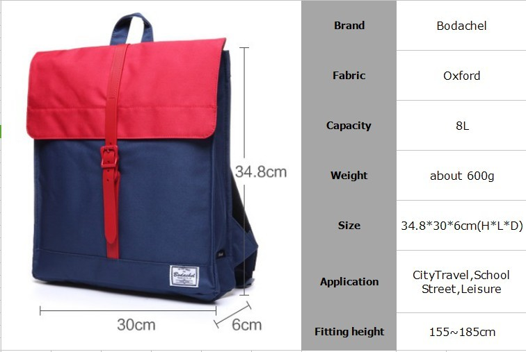 Bodachel 2016 New Backpack Women Female Travel Backpack Black BC0602USD  45.88 piece 7f8cc2662b857