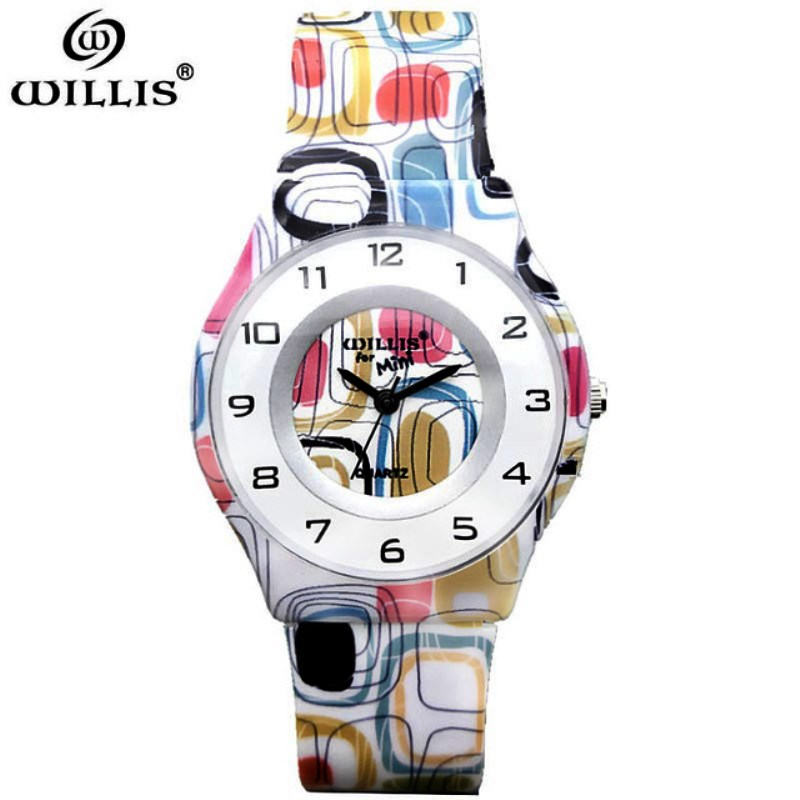 WILLIS Top Brand Women Watch Ultra Thin Silicone Strap Analog Display Quartz Watch Luxury Waterproof Wristwatch Relogio Feminino