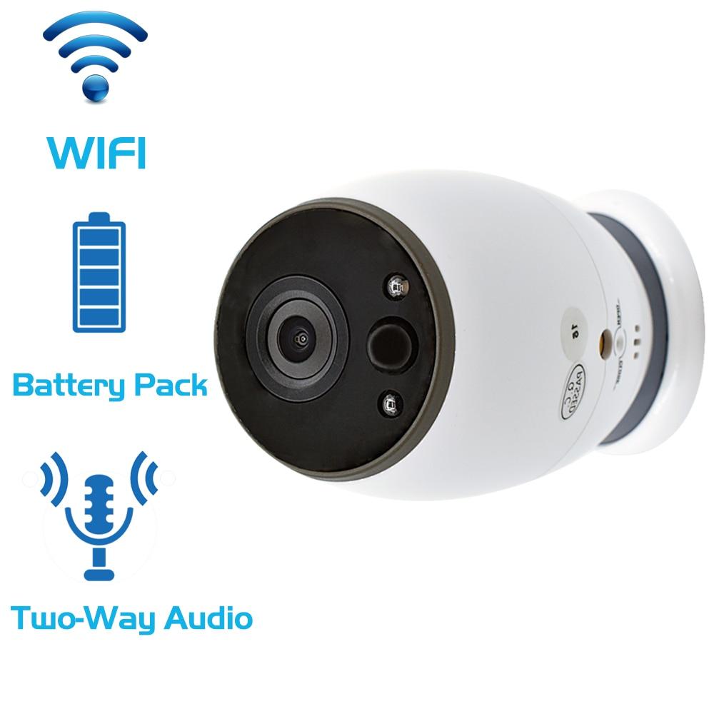 CCTV Battery WiFi IP Camera HD 720P Mini Wireless Video Baby Monitor P2P Indoor Security Smart ip camera IR Night Vision camera wanscam hw0021 p2p 1 0mp hd wifi wireless indoor security ip camera with night vision