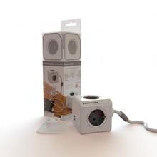 Allocacoc Расширенный Powercube разъем de Plug 4 Розетки Dual USB адаптер с 1.5 м удлинитель адаптер перешли гнездо f13673