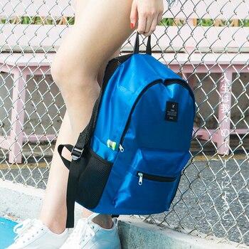 Women Nylon waterproof  Backpacks journey Rucksacks Portable Hand Backpack For teenagers Girls Ladies School Travel Shoulder Bag