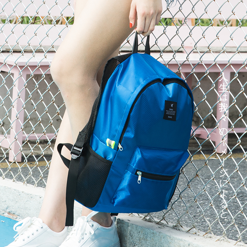 Women Nylon Waterproof  Backpacks Journey Rucksacks Portable Hand Backpack For Teenagers Girls Ladies School Travel Shoulder Bag