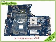 11S90000447 QIWY4 LA-8002P REV 1A For lenovo Ideapad Y580 motherboard DDR3 Intel HD4000+ Nvidia GeForce GTX660M 2GB graphics