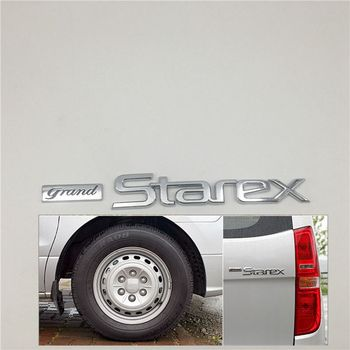 цена на 863104H000 For Hyundai i800 H1 Grand Starex Rear Logo Emblem Trunk Tailgate Nameplate 2007-2014