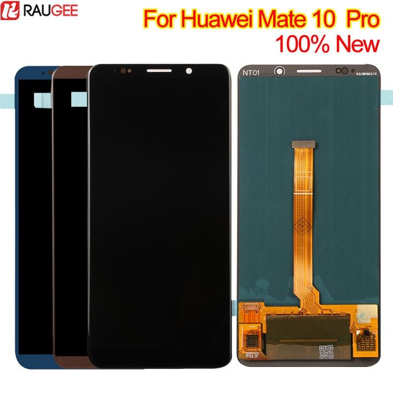 Pour Huawei Compagnon 10 Pro Écran LCD + Écran Tactile 100% Nouveau Digitizer Remplacement Assemblée Verre Panneau LCD Pour Huawei compagnon 10 Pro