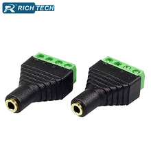 8pcs Video AV Balun 3.5mm 1/8 stereo female to AV Screw adapter Stereo jack 4way Terminals Block Plug jack wire connectors  sc 1 st  AliExpress.com : stereo wiring connectors - yogabreezes.com