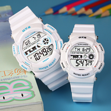 OTS 2 Sizes Fashion Cute Kids Watch Student Outdoor Electronic Sport Clock Waterproof Digital Children Watches for Girls Boy
