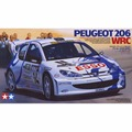 ОХИ Tamiya 24221 1/24 Peugeot 206 WRC Автомобильные Комплекты Модели Здания