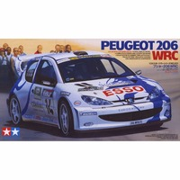 OHS Tamiya 24221 1/24 206 WRC Automotive Car Model Building Kits