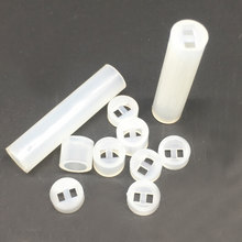 5x5 LED Spacer Support Hood Nylon PCB Board Mount Pack 1000(China)
