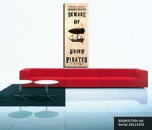 Steampunk Art Print Wall Poster Airship Pirates